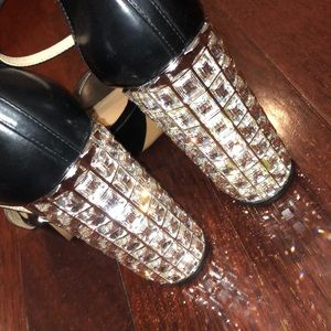 Michael Kors Shoes - Michael Kors crystal shinning high heels